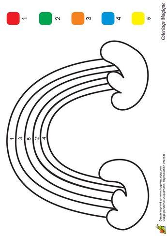 Coloriage Magique Maternelle Oiseau à Imprimer Sur Hugoles