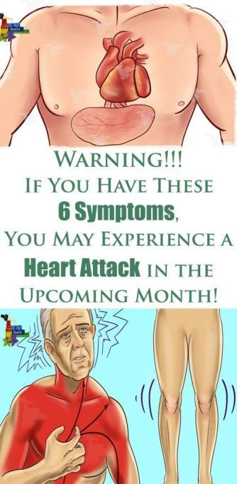 Warning: If You Have These 6 Symptoms, You May Experience a Heart Attack in the Upcoming Month