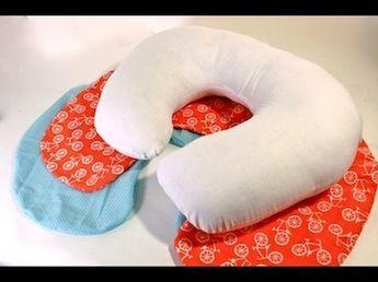 U-Shaped Baby Pillow Tutorial