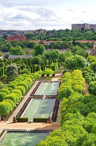 Cordoue - Córdoba 93 les jardins de l'Alcázar