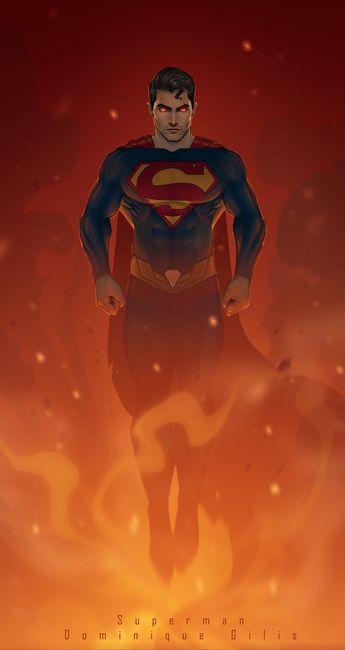 Superman illustration - fan art .  #superman #comics #comicart #illustration #superhero #fire #colors #colorisation #DC #dccomics #supergirl #comicbook #tylerhoechlinfanart #tylerhoechlin #hoechlin @tylerl_hoechlin #coolstuff #adobe #photoshop #art #artist #fanart