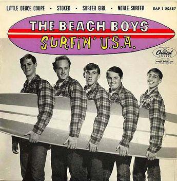 """""""Surfin' USA"""" by The Beach Boys"""