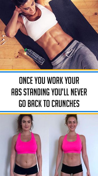 ★★★★★ 67 reviews: Once You Work Your Abs Standing, You'll Never Go Back to Crunches | When it comes to ab workout most people picture crunches or some exercise that includes lying down on the floor. In today's article, we will show you that there is more than that and that there are other ways that can provide you with amazing results. #fitness #diet #fitnesstips #fitnessideas | bokinghotel.online