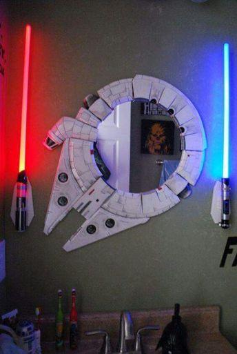 Star Wars Millennium Falcon Mirror