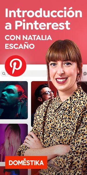 """""""Introducción a Pinterest: crea contenido pin friendly"""". Un curso online de Marketing y Negocios de Natalia Escaño   Domestika"""