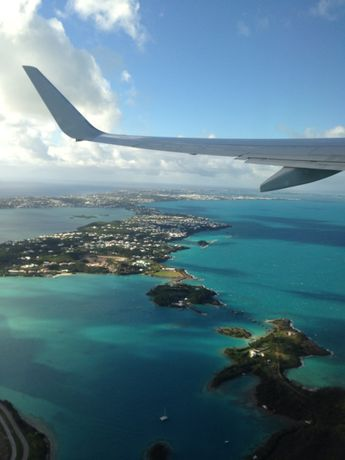 One of the worlds great take offs. Bermuda
