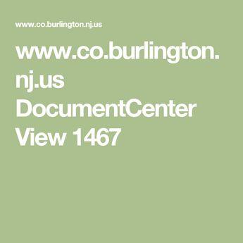 www.co.burlington.nj.us DocumentCenter View 1467