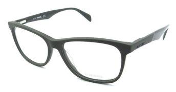 24c3d1f3e589 New Authentic Diesel Rx Eyeglasses Frames DL5208 097 55-15-145 Matte Dark  Green