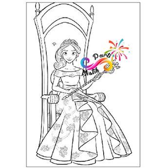 Boyama Sayfalari Prenses Elena Coloring Free To Print