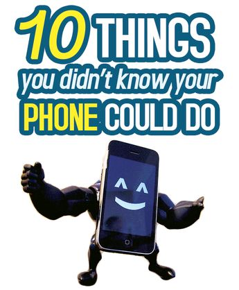 Apps: 10 Things You Didn't Know You Could Do With Your Smartphone
