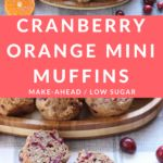 Mini Cranberry Orange Muffins