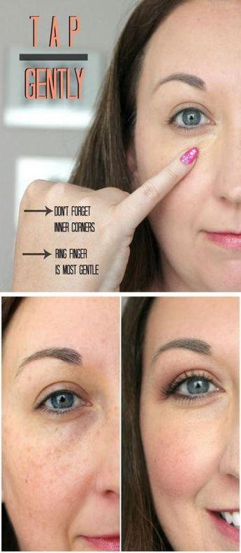 23+ ideas for makeup tips for dark circles life #makeup