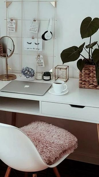 46+ gorgeous cozy dorm room ideas you'll want to copy 18