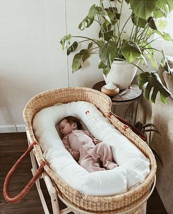 The Young Folk Collective - Handwoven Baby Moses Baskets