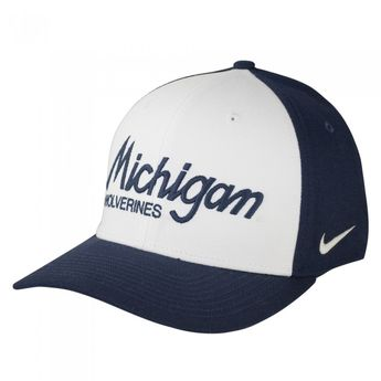 separation shoes ef3b2 55b66 University of Michigan 2017 Nike Classic 99 Script Hat At Campus Den