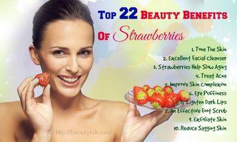 Top 22 Beauty Benefits Of Strawberries