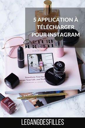 5 applications à télécharger pour Instagram