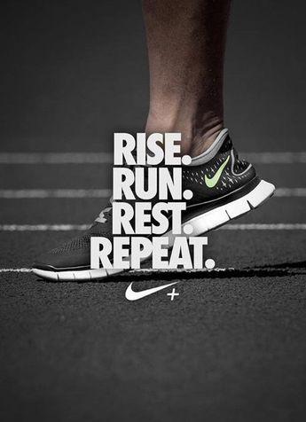 RISE. RUN. REST. REPEAT.