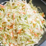 Easy Coleslaw Recipe Homemade Dressing 4 Ingredients