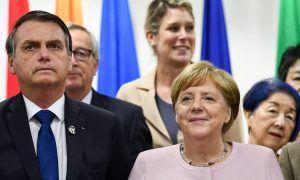 Jair Bolsonaro diz que conversará com Angela Merkel