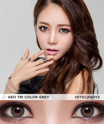 c60884a878a GEO Tri Color Colored Contacts are perfect for dark brown or almost black  eyes due to