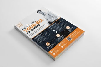 Fargo Creative Business Flyer Design Template - Graphic Templates