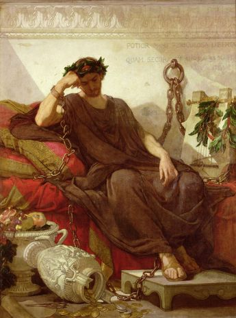 Thomas Couture - Damocles, 1866