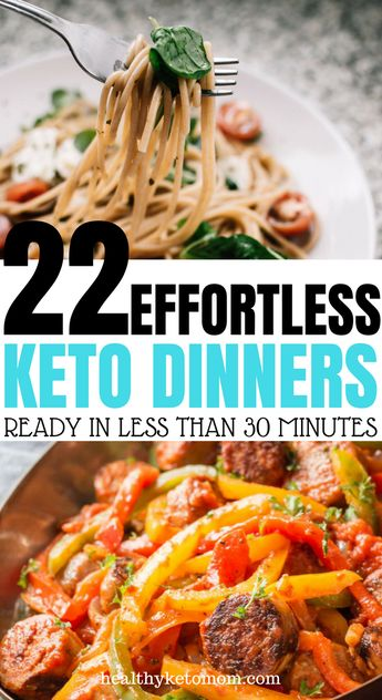 22 Stupid-Simple Quick Keto Dinners That Are Ready In 30 Minutes Or Less