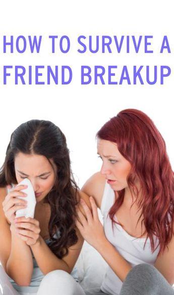 6 Ways To Get Through A Friend Breakup