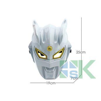 10 Pcs/lot Luminous Ultraman Mask Ultraman Zero Mask Children Altman Animated Cartoon Mask Universe Guard Luminous Toy