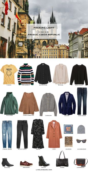 What to Pack for Prague in Autumn