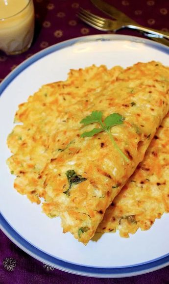 Carrot Coconut Akki Rotti | Rice Flour Flatbread with carrot and coconut