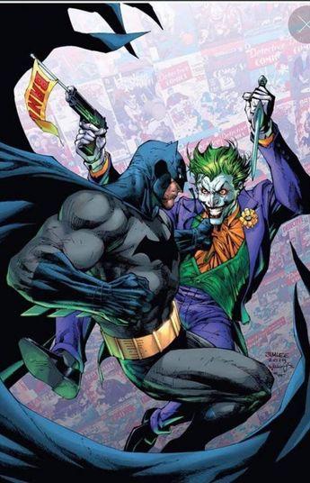Batman vs the Joker by Jim Lee #comiccompany #comic #company