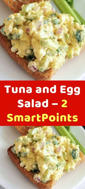 Tuna and Egg Salad – 2 SmartPoints