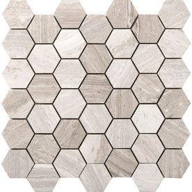Emser Metro Cream Natural Stone Limestone Border Tile (Common: 12-In X 12-In; Actual: 11.73-In X 12.01-In) M05metrcr1212