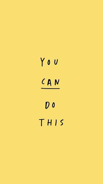 """""""você pode fazer isso""""."""