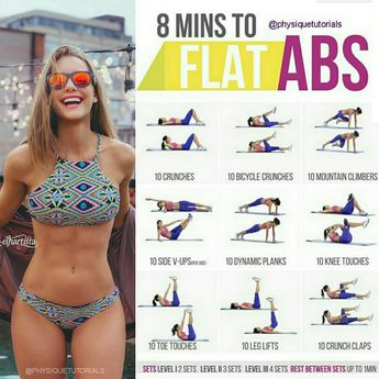 🏋️♀️ Flat abs workout 🙋 want a FREE 28 page workout plan? 👉🏻 link in bio @fittrainers . ✅ Abs: everyone wants 'em, but the vast majority of us don't know how to build them. Boring old exercises have history and tradition behind them, but they just aren't a very effective core exercise. There are better ways to exercise your core. Let me show you how it's done! Here are nine excellent movements mixed and matched into unique routines. Choose three routines to do each week. Put them into ...