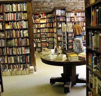 The Dusty Bookshelf In Lawrence Kansas