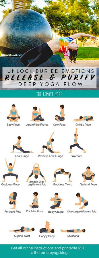 Release Your Emotions Using Yoga to Open Hips