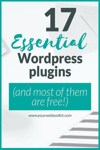 The Best Wordpress Plugins for Online Entrepreneurs | Your Web Toolkit