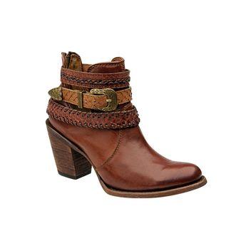 f8e3817763 Cuadra Damen Western- Cowboystiefel (Kalbsleder   Schlangenleder) 1Z65TP  Lederwaren Damen Stiefel
