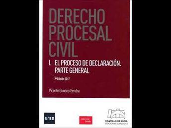 Derecho Procesal Civil I 3º Curso Grado Derecho UNED