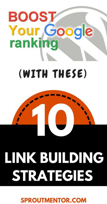 10 Easy Link Building Strategies That You Need Now | SproutMentor
