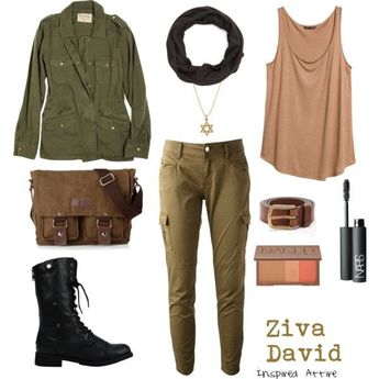 NCISZiva David by meganmoncellor5 on Polyvore featuring R