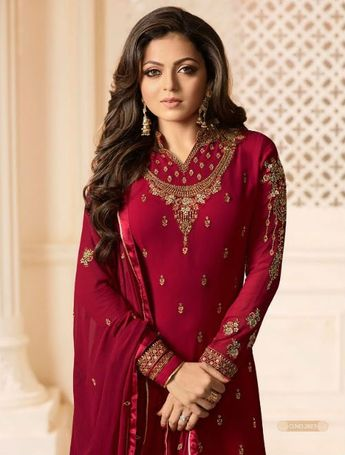 e00fabccb9 Lt Nitya Vol 126 Vaishnavi Georgette With Heavy Embroidery Suit 2603