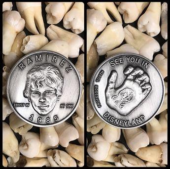 Serial Killer Richard Ramirez Coin