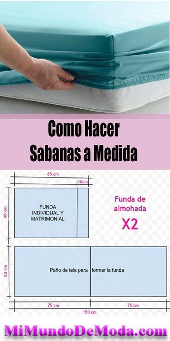 Como hacer Sabanas a medida con moldes o patrones gratis #costuras #patronesdecostura #mimundodemoda #sewing