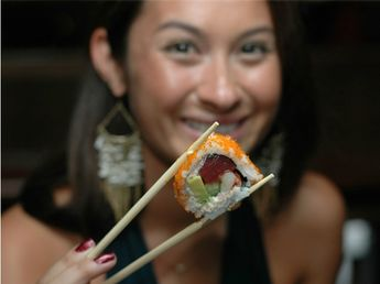 Sansei's sushi chefs are known for their highly imaginative creations, like their signature Panko Crusted Ahi Roll, and the famous Kapalua Butterfly Roll, a colorful delight of salmon, crab, shiromi, and fresh vegetables.