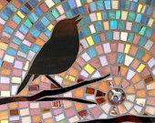 Rainbow Trout Card - Mosaic Art -Mosaic Fish Card - Gift for Fisherman