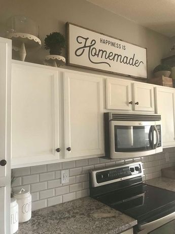 Happiness is Homemade / Wood Sign / Kitchen Sign / Homemade / Farmhouse Sign / Wall Decor / Living R